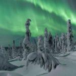 aurore boreale en laponie finlande 2021 2022