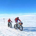 fat bike laponie sur lac gele finlande 2021 2022