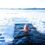 laponie finlande immersion bain baignade lac gele glace hiver 2021 2022