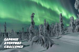 aurore boreale en laponie finlande