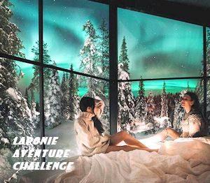 aurora panorama igloo finlande laponie aurores boreales observasion vue panoramique glass igloo hotel